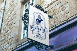 Pompon Girl Bleu Juin