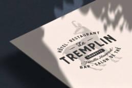 Le Tremplin logo Bleu Juin